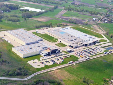 Otwarcie fabryki aparatury elektronicznej i centrum logistycznego ABB w Aleksandrowie Łódzkim.